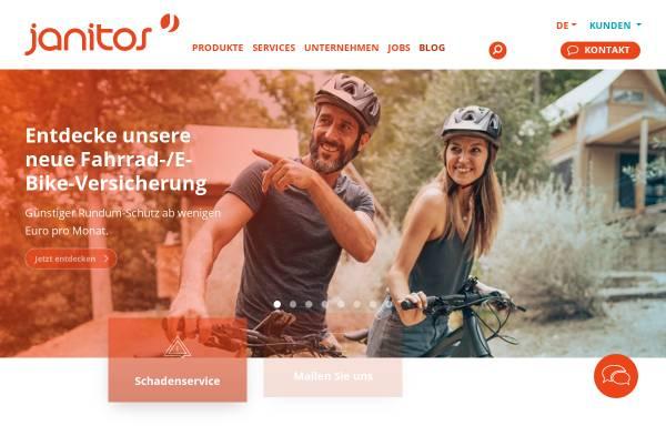 Vorschau von www.janitos.de, Janitos Versicherung AG