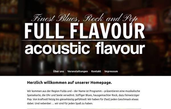 Vorschau von www.full-flavour.net, Full Flavour