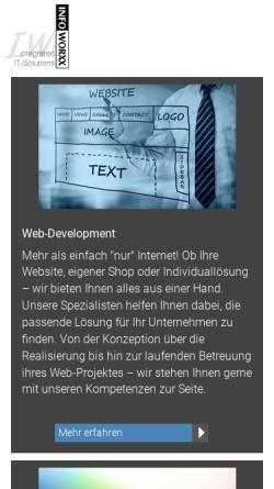 Vorschau der mobilen Webseite www.artland-media.de, Artland-Media GbR