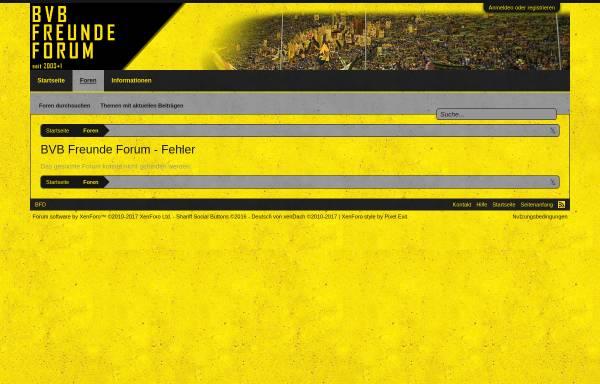 Vorschau von www.bvb-freunde.de, BVB-Freunde Deutschland