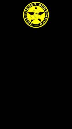 Vorschau der mobilen Webseite www.desperados-dortmund.de, Desperados