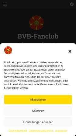 Vorschau der mobilen Webseite www.optimisten-lippstadt.de, Lippstädter BVB-Freunde Optimisten