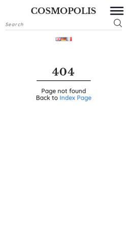 Vorschau der mobilen Webseite www.cosmopolis.ch, Alberto Giacometti und seine Familie