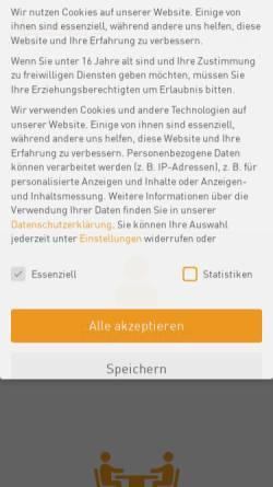 Vorschau der mobilen Webseite www.dialoggestalter.de, Institut Kommunikation & Umweltplanung GmbH