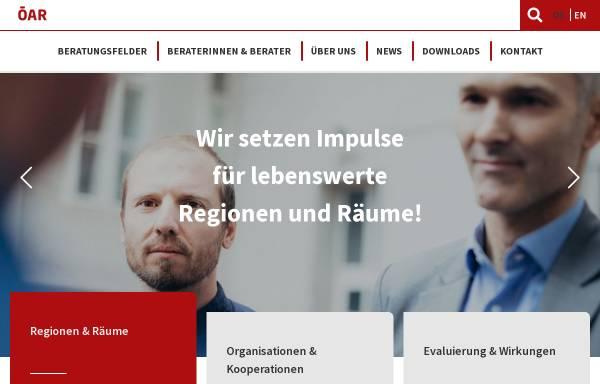 Vorschau von www.oear.at, ÖAR-Regionalberatung Ges.m.b.H.