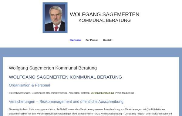 Vorschau von www.sagemerten-kommunalberatung.de, Wolfgang Sagemerten