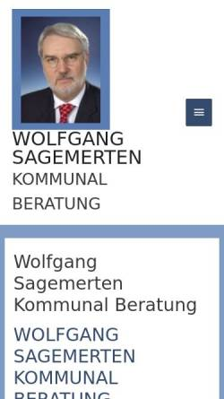 Vorschau der mobilen Webseite www.sagemerten-kommunalberatung.de, Wolfgang Sagemerten