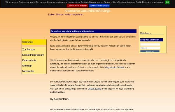 Vorschau von www.ayureiki.de, Monika Fahron
