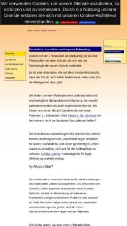 Vorschau der mobilen Webseite www.ayureiki.de, Monika Fahron