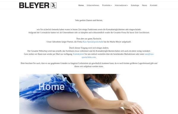 Vorschau von www.bleyergmbh.com, R. Bleyer GmbH & Co.