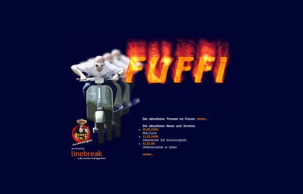Vorschau von www.fuffi.de, Vespa und Fünfziger Motorroller