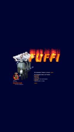 Vorschau der mobilen Webseite www.fuffi.de, Vespa und Fünfziger Motorroller