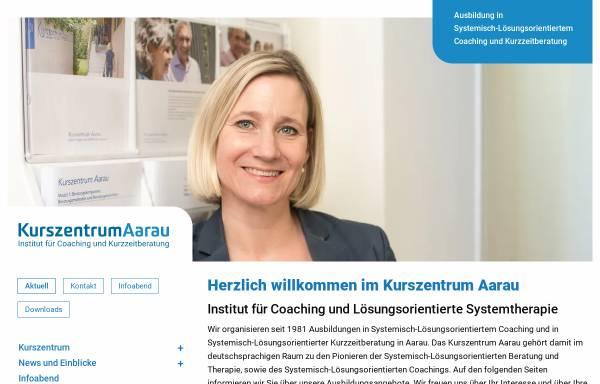 Vorschau von www.kurszentrum.ch, Kurszentrum Aarau