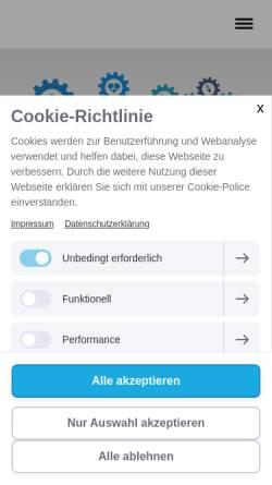 Vorschau der mobilen Webseite www.praxis-dr-plank.de, Dres. Plank und Wickles