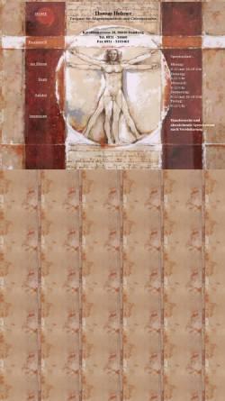 Vorschau der mobilen Webseite www.arztpraxis-holzner.de, Holzner, Thomas
