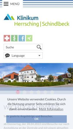 Vorschau der mobilen Webseite www.arztpraxis-schleuter.de, Schleuter, Dr. med. Peter