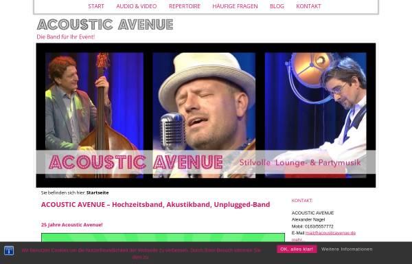 Vorschau von www.acousticavenue.de, Acoustic Avenue