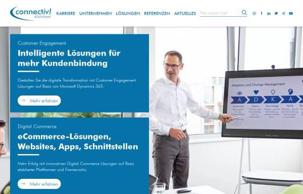 Vorschau von www.connectiv.de, Connectiv! eSolutions GmbH