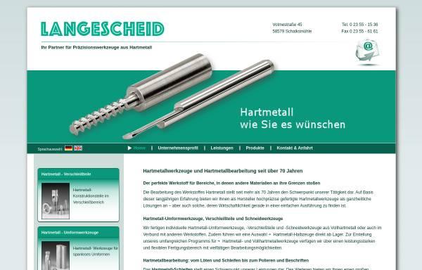 Vorschau von www.langescheid.de, Eugen Langescheid