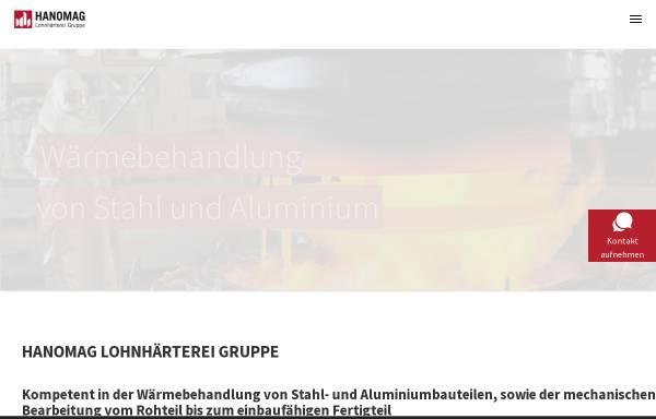 Vorschau von www.hanolohn.de, Hanomag Lohnhärterei Unternehmensgruppe