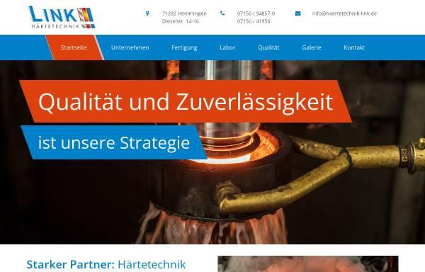 Vorschau von www.haerterei-link.de, Härtetechnik Link GmbH