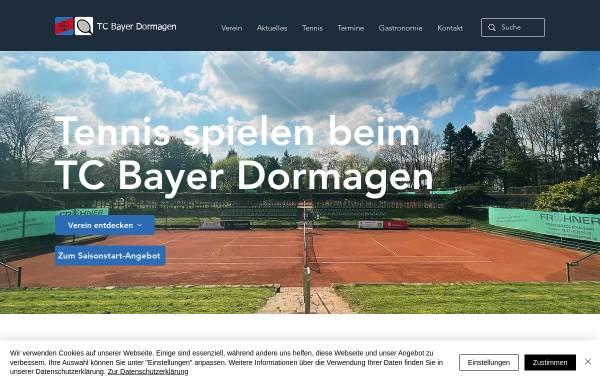 Vorschau von www.tc-bayer-dormagen.de, TC Bayer Dormagen e.V.
