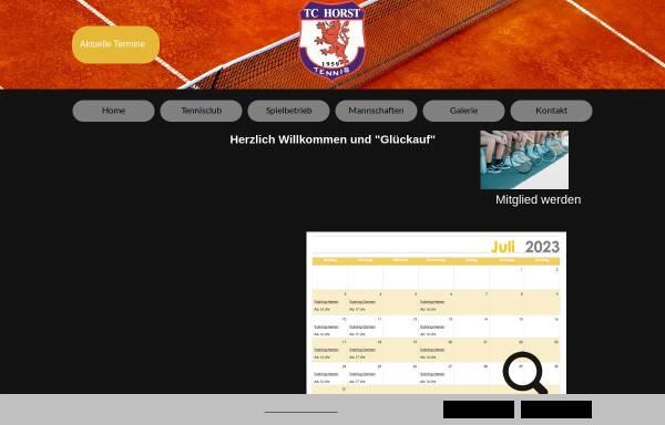 Vorschau von www.tchorst59.de, TC Horst 59 e.V.