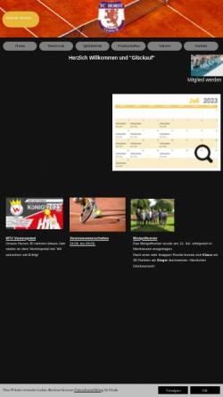 Vorschau der mobilen Webseite www.tchorst59.de, TC Horst 59 e.V.
