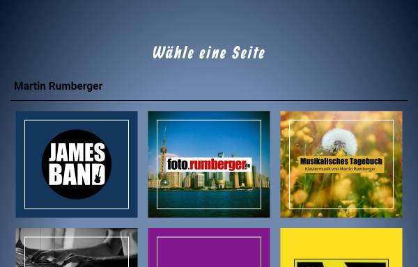 Vorschau von www.rumberger.de, Da Capo al Fine und Quo Vadis