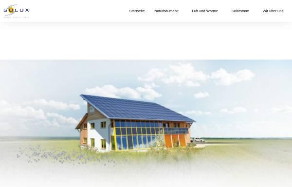 Vorschau von www.solux.de, Solux GmbH