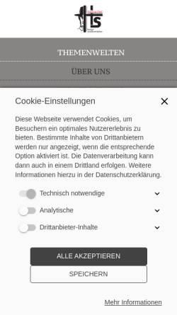 Vorschau der mobilen Webseite www.hs-masssachen.de, Hs Maßsachen