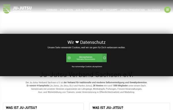 Vorschau von www.jjsn.de, Sächsischer Ju-Jutsu Verband e.V.