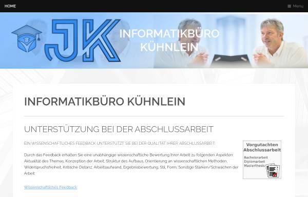 Vorschau von www.jkinformatik.de, Kühnlein Informatikbüro