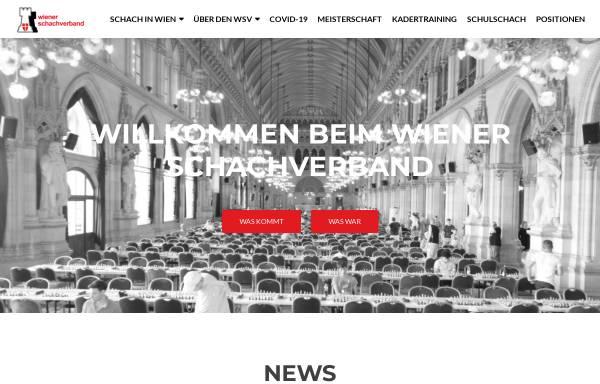 Vorschau von www.chess-vienna.at, Wiener Schachverband