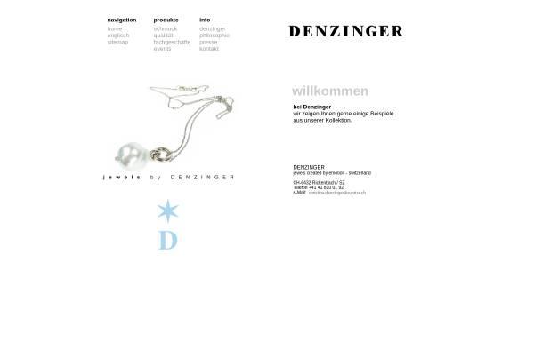 Vorschau von www.denzinger.ch, Denzinger & Co.