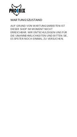 Vorschau der mobilen Webseite www.hundetransportgeschirr.de, Phoenix Hundezubehör Manufaktur