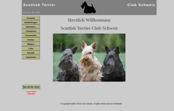 Vorschau von www.scottish-terrier-club.ch, Scottish Terrier Club Schweiz