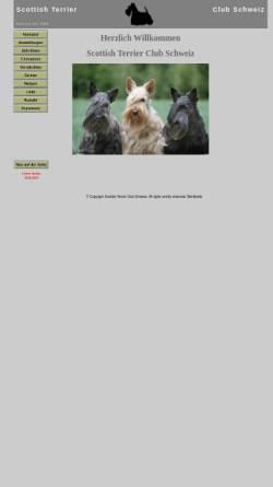 Vorschau der mobilen Webseite www.scottish-terrier-club.ch, Scottish Terrier Club Schweiz
