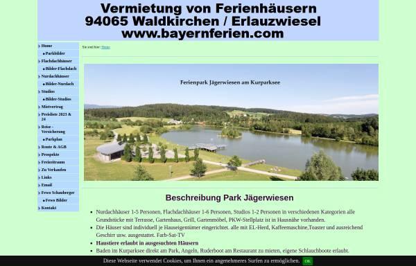 Vorschau von www.ferienpark-waldkirchen.de, Ferienpark Jägerwiesen