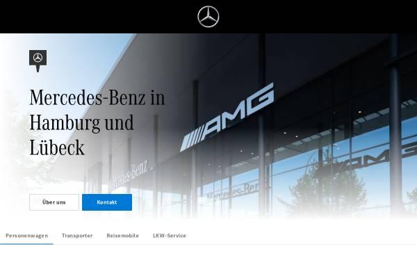 Vorschau von www.hamburg.mercedes-benz.de, Mercedes-Benz Niederlassung Hamburg