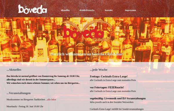 Vorschau von www.boveda-online.de, Club und Bar bóveda