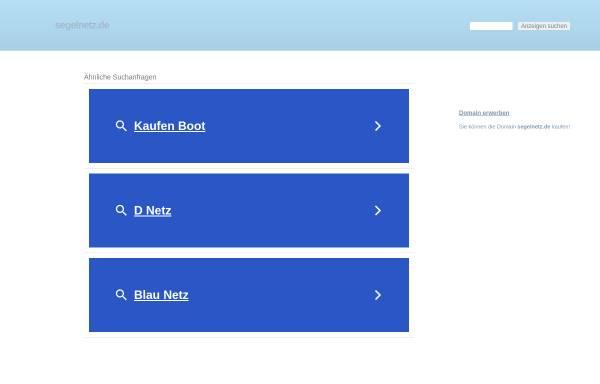 Vorschau von www.segelnetz.de, Segelnetz