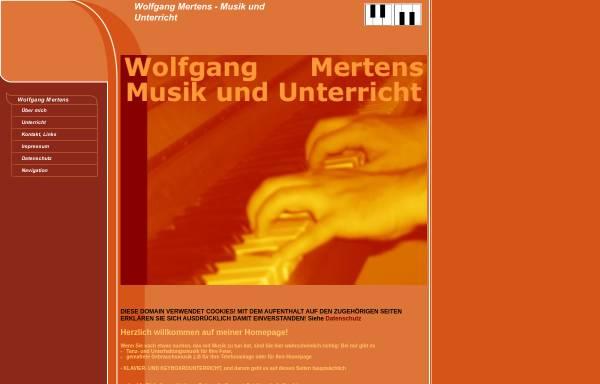 Vorschau von mertens-online.org, Mertens, Wolfgang