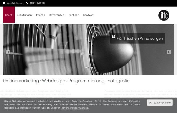 Vorschau von www.it-tc.de, ittc print + web Michael Neidhardt