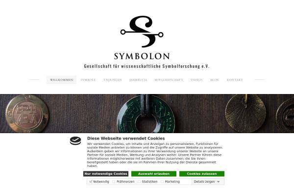 Vorschau von www.symbolforschung.org, Gesellschaft für wissenschaftliche Symbolforschung