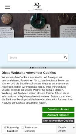 Vorschau der mobilen Webseite www.symbolforschung.org, Gesellschaft für wissenschaftliche Symbolforschung