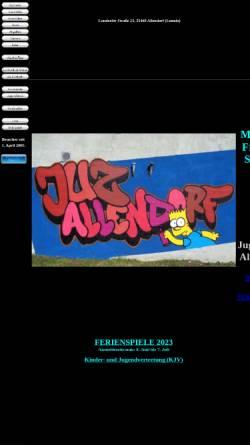 Vorschau der mobilen Webseite www.juz-allendorf.de, Jugendpflege der Stadt Allendorf (Lumda)