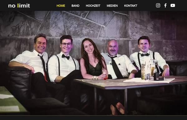 Vorschau von www.nolimit-tanzband.de, no limit