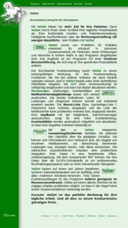Vorschau der mobilen Webseite www.vetset.de, VetSet