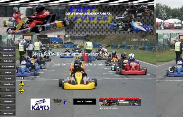 Vorschau von www.kart-power.de, Kart-Power